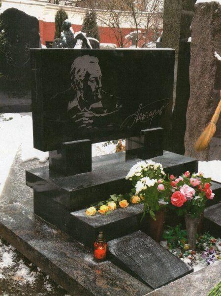 Ο τάφος του. Νεκροταφείο Νοβοντέβιτσε.